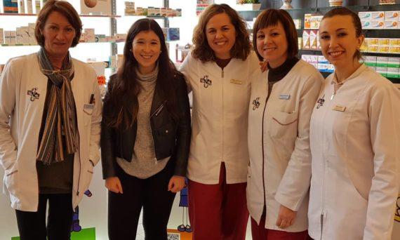 Uxue Corrales (Ermua BHI) - Maria Luisa Toca (Farmacia Toca)