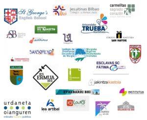 centros participantes 2017-2018 Lanaldi