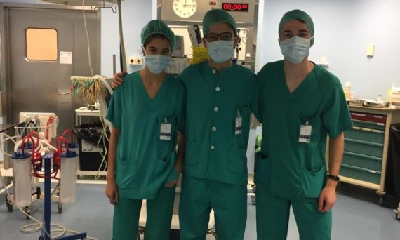 Hospital Santiago - Lanaldi Eguna (diciembre 2018)